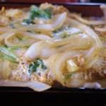 大松 - かつ丼 アップ