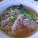 孟渓苑 - ワンタン麺セット