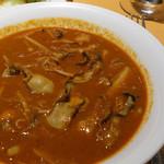 アンブロジア - 牡蠣きのこカレー