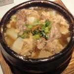 水魚 - 牛スジ塩煮込み