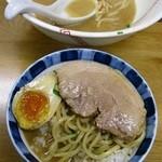 らーめん 弥七 - セルフ醤油ラーメン丼