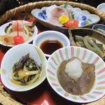 松川温泉 峡雲荘 - これがまた、薄味でなかなかヨロシイノデス。