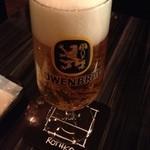 ラ ヴィラ - やっぱりビール!