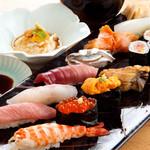 寿しの いく味 - 極上活け〆鮮魚を使った握り寿し