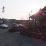 鍵屋コーヒー - 愛車とお店。