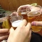 まつき食堂 - ビールで乾杯☆(第一回投稿分②)