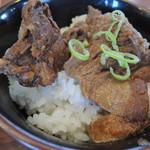 麺屋 華月 - ミニ牛すじ丼