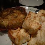 1693512 - たこのエスカルゴ風バター焼き(パン付)¥1495