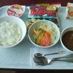 科ふぇすた - 学校給食風ランチ(カレーセット)\550