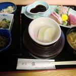 割烹 藤 - お造り定食 1050円