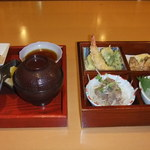 16933507 - 松花堂弁当 1050円