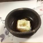 魚留 - ごま豆腐
