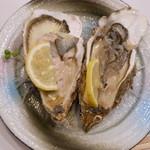 よし - 【旬の殻カキ】大きさと味!!