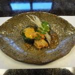 割烹 ひさご - 前菜、渡り蟹