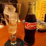 デノーズ - コカコーラーは瓶
