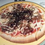 アクアリウム - 照り焼きチキンピザ
