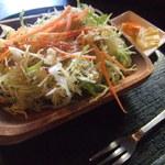 ここはな - 石焼カレードリアについてたサラダ