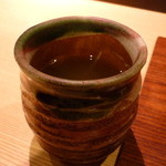鮨 いしばし - ☆温かいお茶でほっこり☆