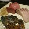 れんげ料理店 - 料理写真:お造り4人前の一部