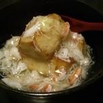 れんげ料理店 - 里芋の揚げだしカニあんかけ