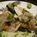 れんげ料理店 - 甘鯛の蓮蒸しをかぶら蒸し風に