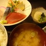 なか田鮨 - 刺身定食:800円