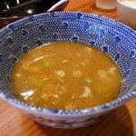 つけめん 京蔵 - スープ割り