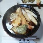 大清水 - 天ぷらそば(温)