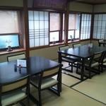 大清水 - 店内(椅子席)