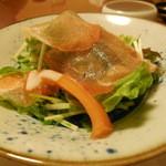 ビストロ割烹 つちだ - 生ハムと野菜