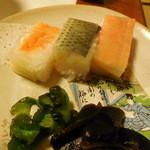 ビストロ割烹 つちだ - お寿司