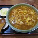 小松庵 - カレーそば(850円)