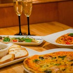 banchettare - ピッツァも一枚一枚丁寧に手作り。さあ、イタリアンパーティー