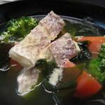 鼎 - トマト真鯛スープ煮