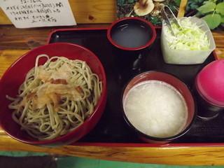 たかさと庵 - この店で1番辛い「しぼり」600円