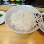 串かつ新世界 - ご飯はまあまあ美味しい