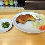 串かつ新世界 - 日替わりチキン定食