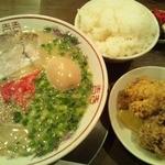 麺屋 侍 - ランチBセット850円