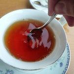 ロビーラウンジ すみれ - ☆少し硬い砂糖で頑張って混ぜ混ぜ(*^^)v☆