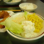 バイキング山科  - サラダはシッカリ食べて・・・
