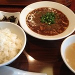 杏梨 チャイニーズキッチン - 麻婆豆腐定食