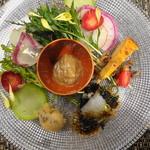 ラ・コシーナ・デ・ゲン - 賑やかな前菜は超うれしい♪