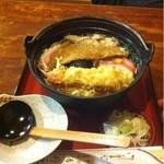 治作庵 - 鍋焼きうどん