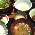 みなも - 和牛すき焼き定食