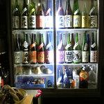 16954007 - 魅惑の業務用の日本酒専用冷蔵庫 ♡