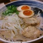 16954783 - 黒ニンニク塩 煮玉子乗せ(730円)