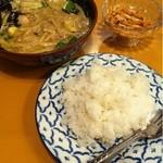 プアンタイ料理京子 - <2012/12>グリーンカレー(1300円)