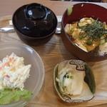 まめcafe - 湯葉丼セット