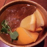スミレ - 料理写真:食前にサングリア