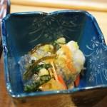 寿司竜 - 鰊の酢漬け